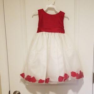 Girls holiday/flower girl dress size 2T